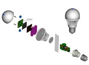led-light-components