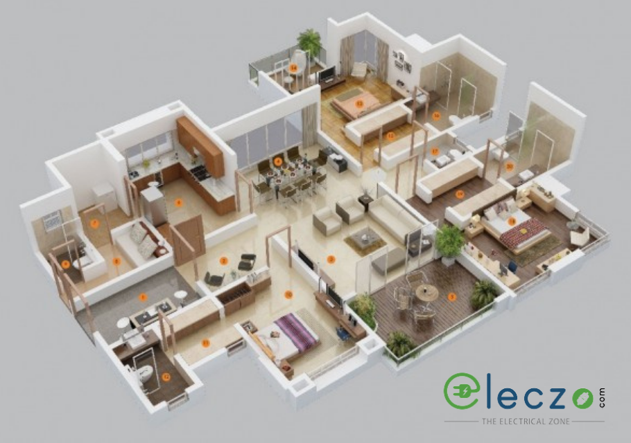 3bhk-electrical-layout